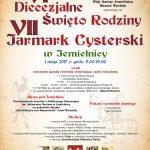 VI Diecezjalne Święto Rodziny i VII Jarmark Cysterski