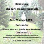 Rekolekcje dla par i narzeczonych w Bodzanowie